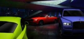 """رولز-رويس تضفي ألواناً جريئة على سيارات بلاك بادج مع ثلاثية """"نيون نايتس"""""""
